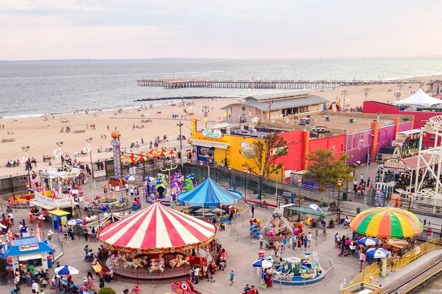 Đảo Coney, địa điểm vui chơi giải trí lý tưởng ở New York