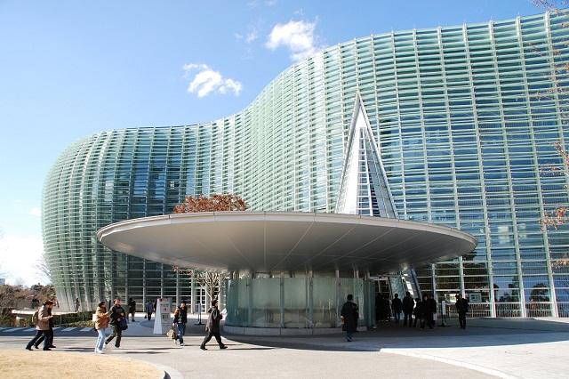 Trung tâm nghệ thuật quốc gia Tokyo với thiết kế độc đáo