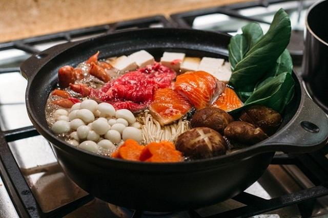 Chankonabe là một món ăn chứa nhiều protein rất tốt cho sức khỏe